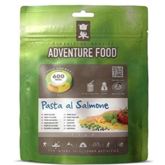 Adventure Food Pasta Pesto med Lax, enkelportion