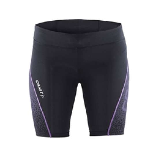 Craft Delta Compression Short Tights Woman - Black/Purple