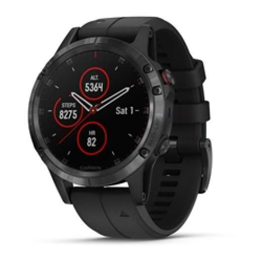 Garmin Fenix 5 Plus Sapphire Black With Black Band