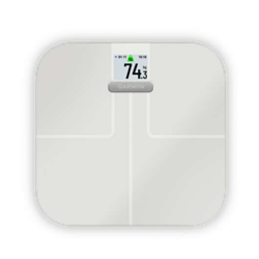 Garmin Index S2 Smart Scale White